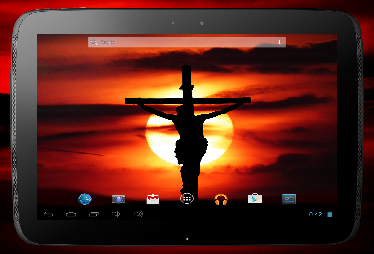 jesus on the cross live wallpaper android apps on google play