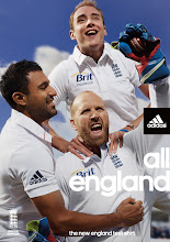 Photo: The new Test kit! Click through the images to see behind the scenes of this being made. Get the new adidas range at www.store.ecb.co.uk