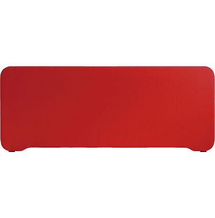 Bordsskärm Edge 1000x400mm röd