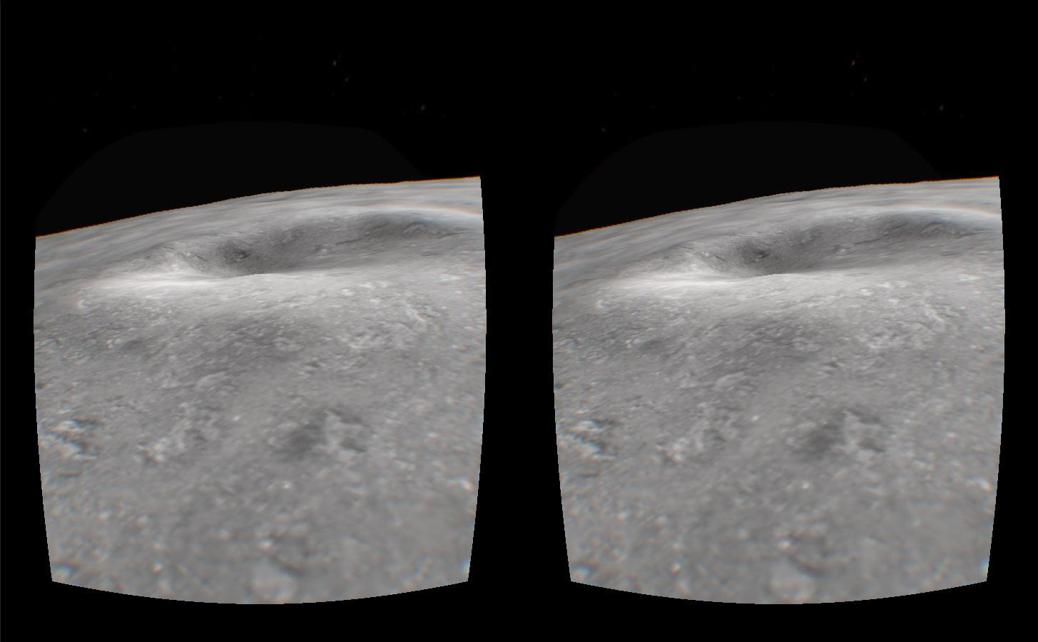Moon Walk VR- screenshot