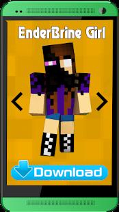 Herobrine Skins for Minecraft - náhled