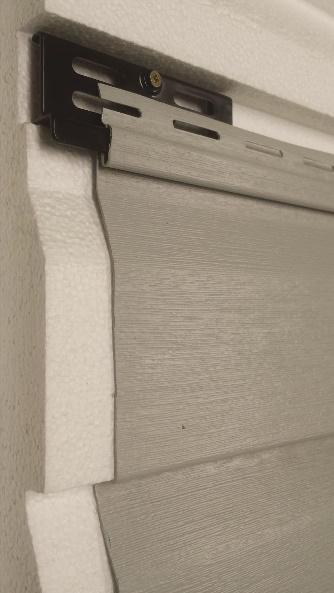 Locking System in Vinyl Siding
