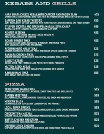 Local menu 3