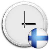 Finland Clock & RSS Widget