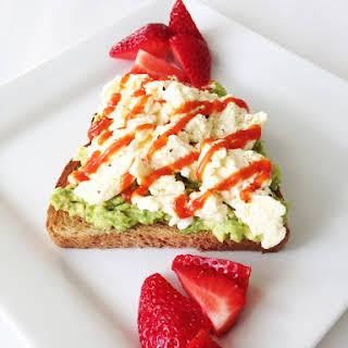 Avocado & Egg Breakfast Toast.