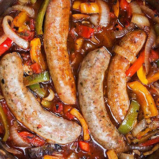 Sausage, Peppers, and Onions.