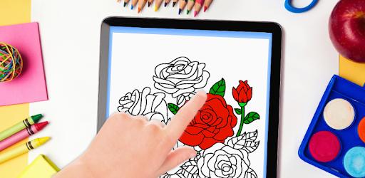 çiçekler Mandala Boyama Kitabı Google Playde Uygulamalar
