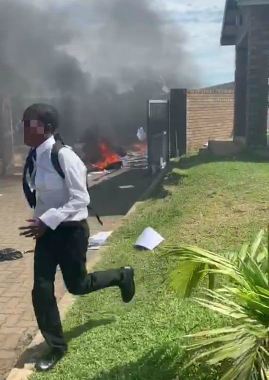 WATCH | KZN school on fire as pupils protest about teachers - SowetanLIVE