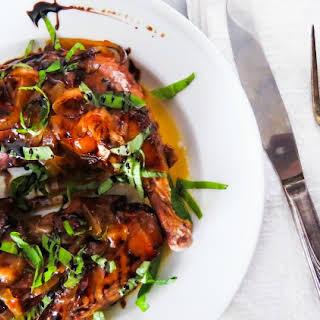 Slow Cooker Balsamic Chicken.