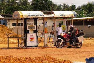 Photo: Ghanaian gas station