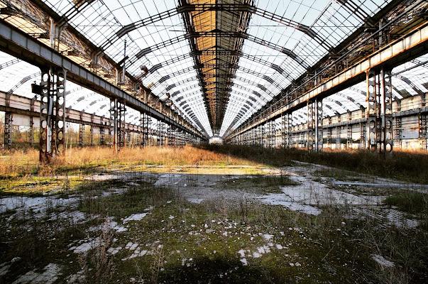 Luci e ombre nella Fabbrica abbandonata  di Francerizz