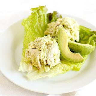 Lighter Avocado Chicken Salad.
