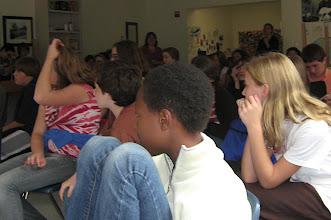 Photo: Students of the Poughkeepsie Day School