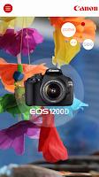 Screenshot of Canon EOS 1200D Companion