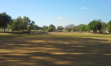 Photo: View from Home Plate of Little League Field 05-22-2014