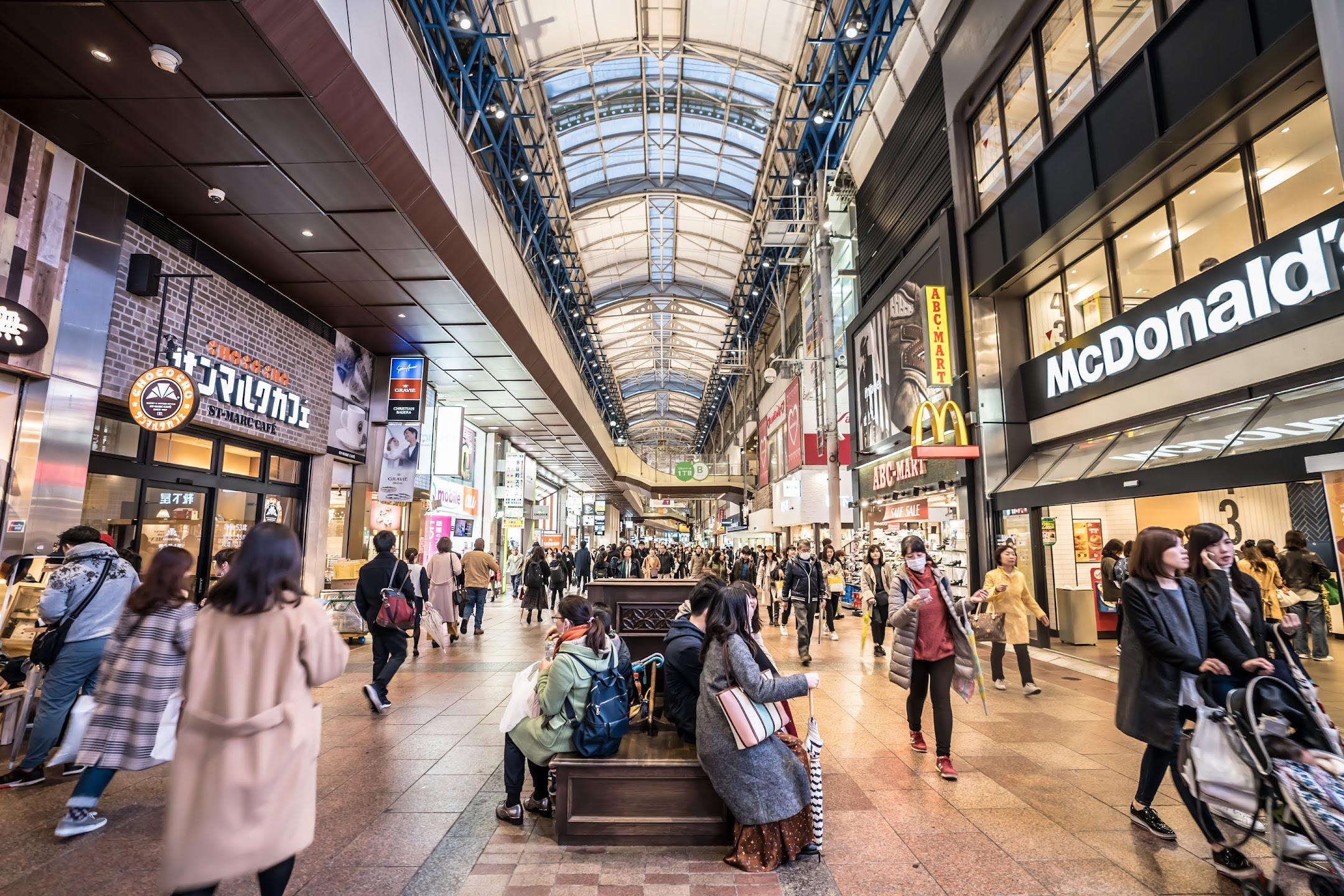 Kobe Sannomiya Center Street3