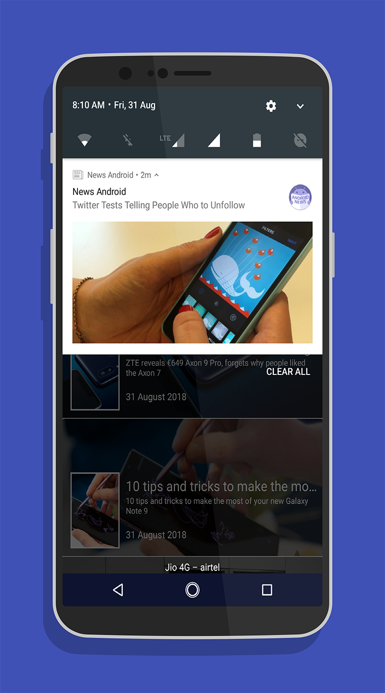 News android - news for android - news on android Screenshot 2