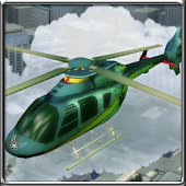 3D City Helicopter