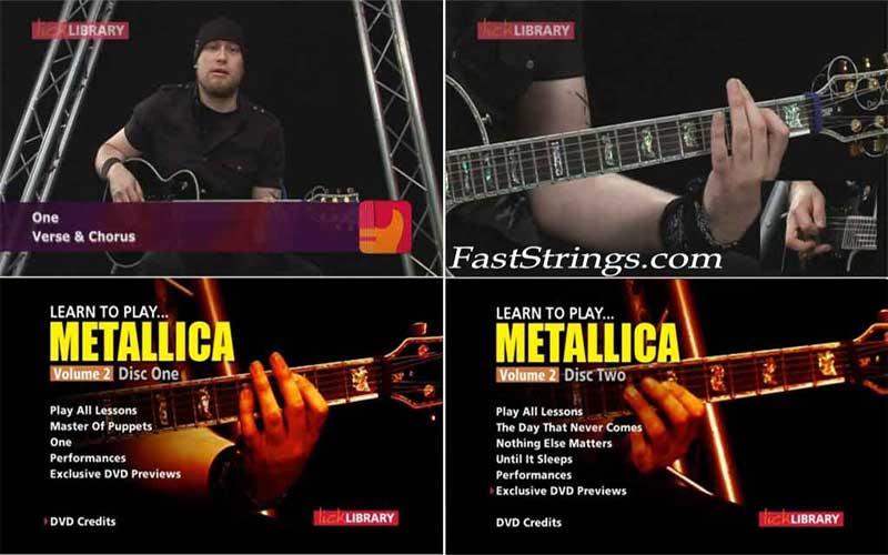 Learn to Play Metallica Volume 2