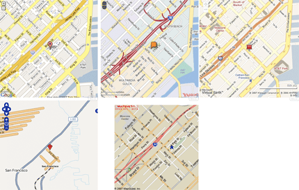 Maps API comparison