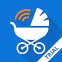 Baby Monitor 3G (Trial) icon