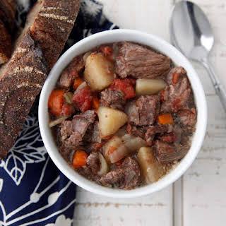 Beef Stew in the Crock Pot recipe   Epicurious.com.
