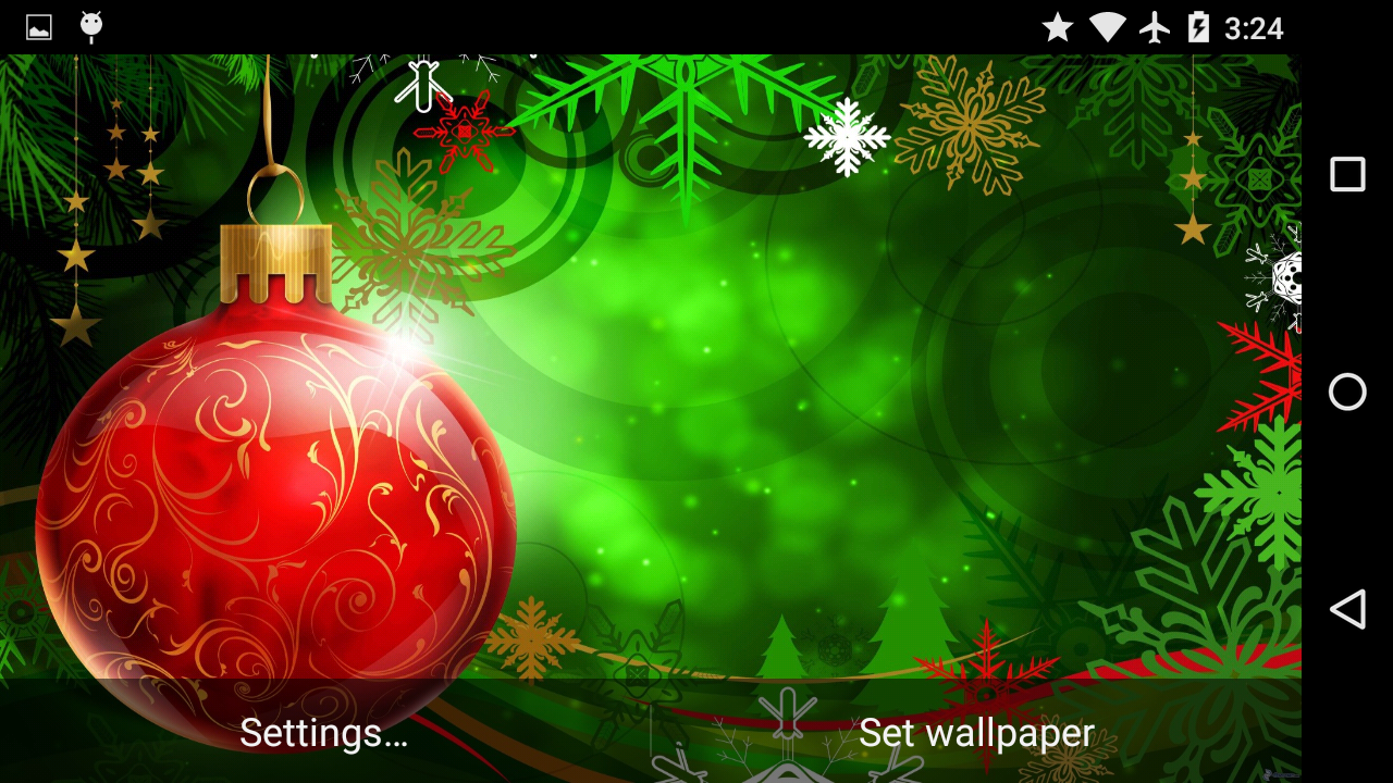 Christmas decor live wallpaper android apps on google play for Decor live beautiful app