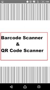 Quick QR Code Scanner & Barcode Scanner - náhled