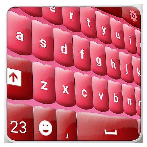 ピンクのキーボード 個人化 App LOGO-硬是要APP