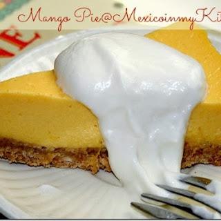 How to Make No-Bake Mango Pie / Cómo Hacer Pay de Mango