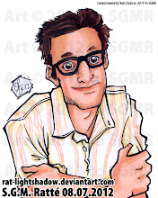 Photo: So, early in the summer I was commissioned by a nice gentleman named Nate Hashem, who found my art through G+er +Terrence Lui and wanted 10 #BustedHeads of his coworkers for his website, two of each person. So, I'm going to upload them 2 a day for the next few days, so YAY! New art XD  Here's the the first, this one of Aaron. This one is actually one of my fave drawings of the group of ten. :)  Nate owns http://www.adrenalads.net/about where you can find three of the ten pics I did for his about page :D YAY! :D Hee.  I WILL BE AVAILABLE FOR COMMISSIONS STARTING SEPTEMBER 15. Stay tuned for more info  #commission #illustration #markerart #profilepic #avatar