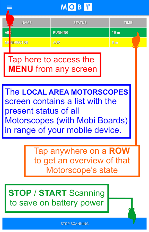 MOBI- screenshot