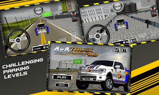 4x4 Truck Parking 3D