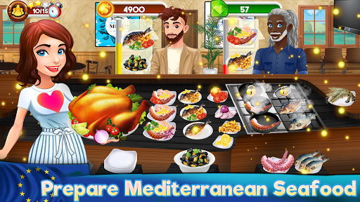 cooking kitchen chef - restaurant food girls games screenshot 2