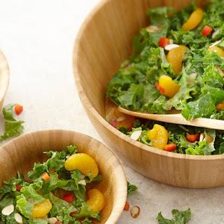 Kale Salad with Asian Vinaigrette.