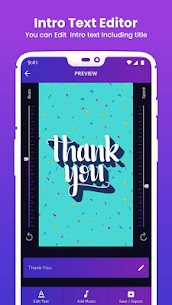 IntroBit : Animated Text & Intro Maker with Music  Apk Download for Android 7