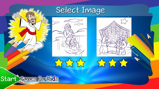 Coloring Book Children's Bible - náhled
