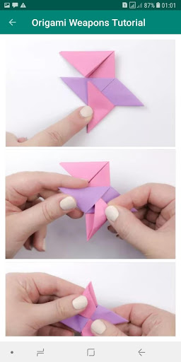 How to make a cool origami paper sword - YouTube | Origami sword ... | 512x256
