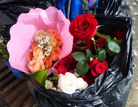 Photo: Love in a black plastic bag