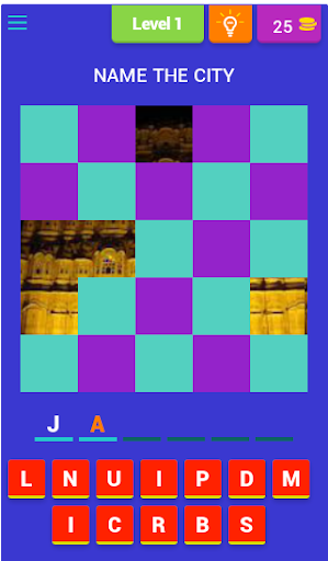 Puzzle on Indian City2