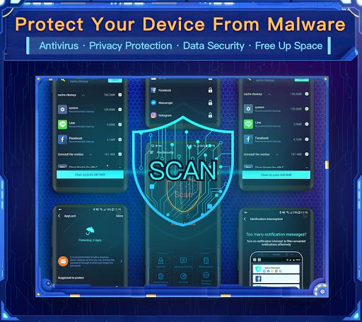 Nox Security - Antivirus Master, Clean Virus, Free 1.8.8 Screenshots 1