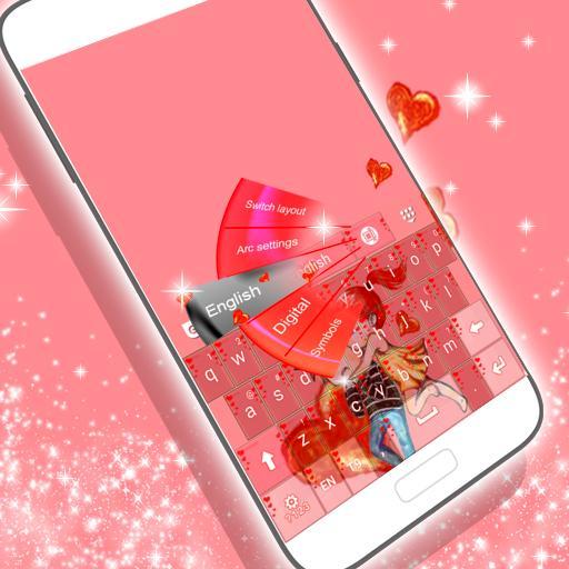 个人化の完全な愛のキーボード LOGO-記事Game