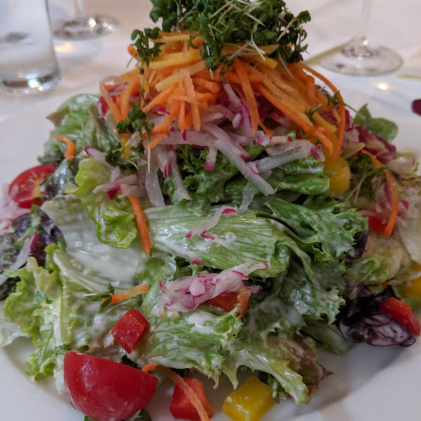 a) this salad was huge! Split it w your dining companion