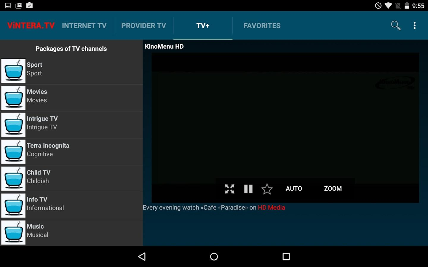ViNTERA TV- screenshot