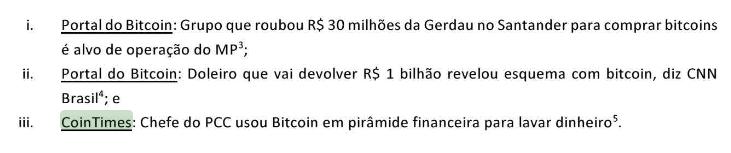 Santander diz que Bitcoin é usado em lavagem de dinheiro, mas é acusado de ajudar a lavar bilhões