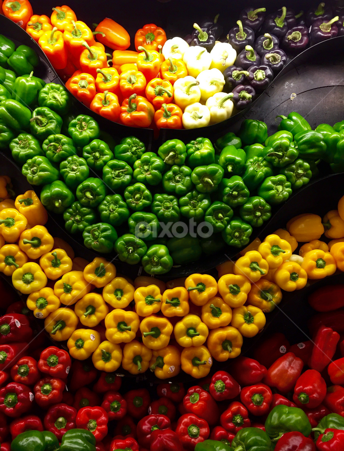 Peppers 2 by Lope Piamonte Jr - Food & Drink Fruits & Vegetables