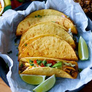 Picadillo Tacos - Crispy Ground Beef and Potato Tacos (Tacos de Picadillo).