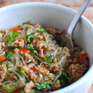Thai Pork Salad with Cellophane Noodles.