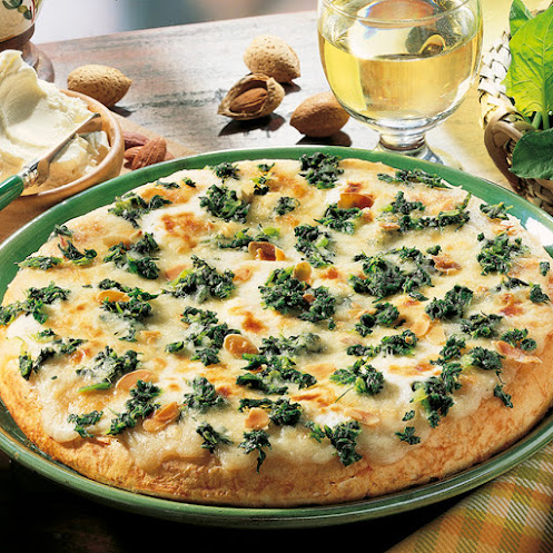 Abbildung American Pizza Spinat