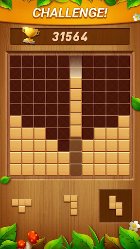 Wood Block Puzzle - Free Classic Block Puzzle Game filehippodl screenshot 3